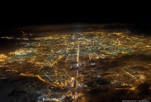 Фотограф из России Слава Степанов (Gelio) Вид из самолёта