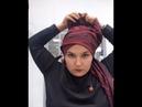 Завязывание платка на никах обучающий урок оформлению платка на никак как завязать платок на никах