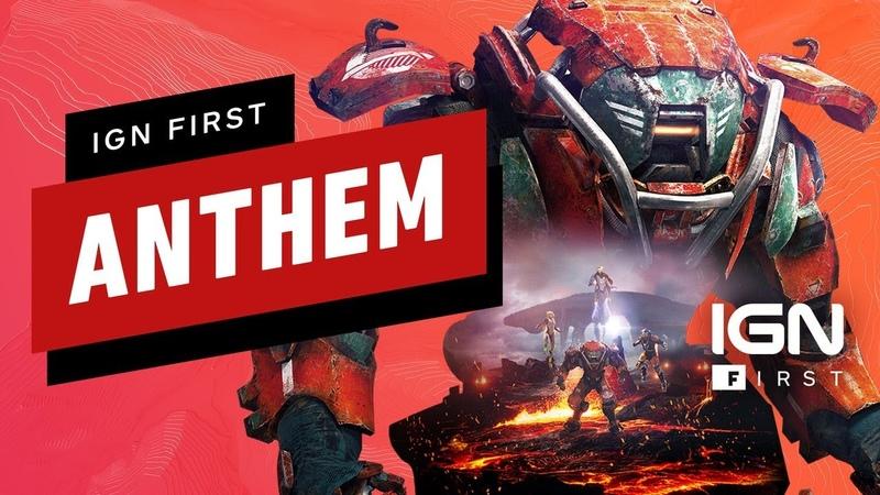 Anthem 10 Minutes of Hidden Depths Gameplay - IGN First