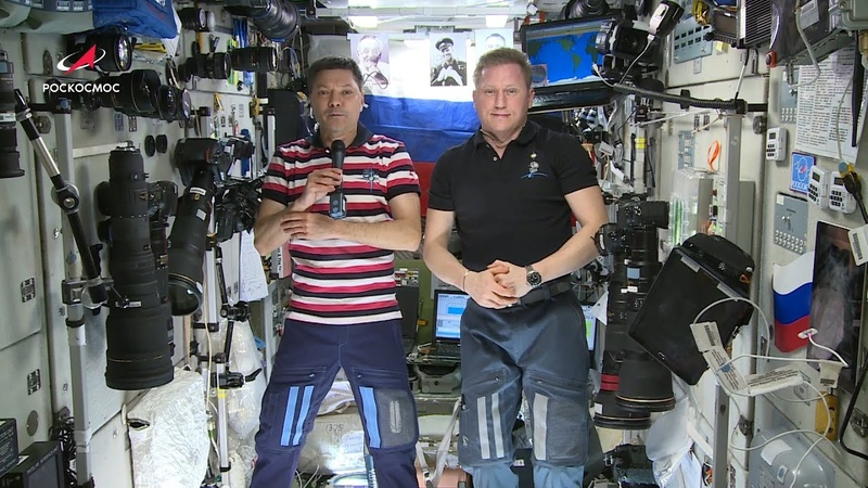 Космонавты МКС об эксперименте по печати живых микроорганов в космосе