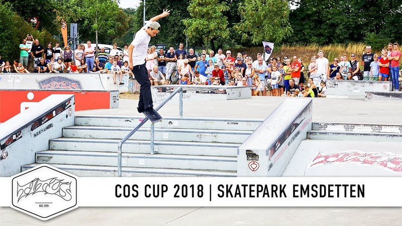 Ecko Unltd. COS Cup 2018 - Skatepark Emsdetten
