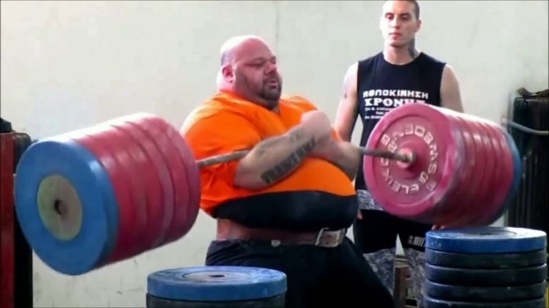 Yelling man lifting weights (I dont own this)