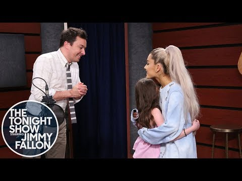 Ariana Grande Surprises Fans While They Sing One Last Time