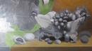 Натюрморт с лилиями - многослойная живопись (часть 3)