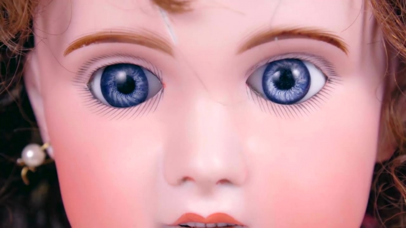 [BersReview] ЕЙ 118 ЛЕТ! Антикварная кукла с человеческими волосами и живыми глазами | Обзор Дороти из ПРОШЛОГО