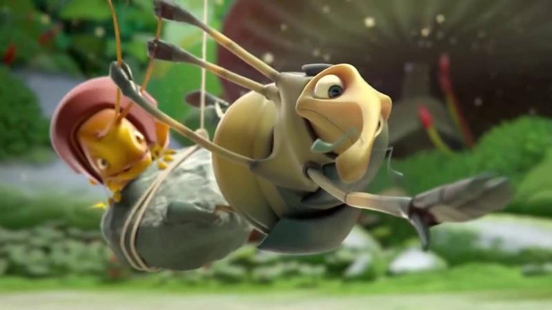 Смешные и прикольные короткометражные мультфильмы: Милый кокон.