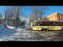 Трамвай 40 Станция Угрешская Новоконная площадь