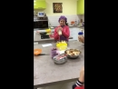 Cooking English class