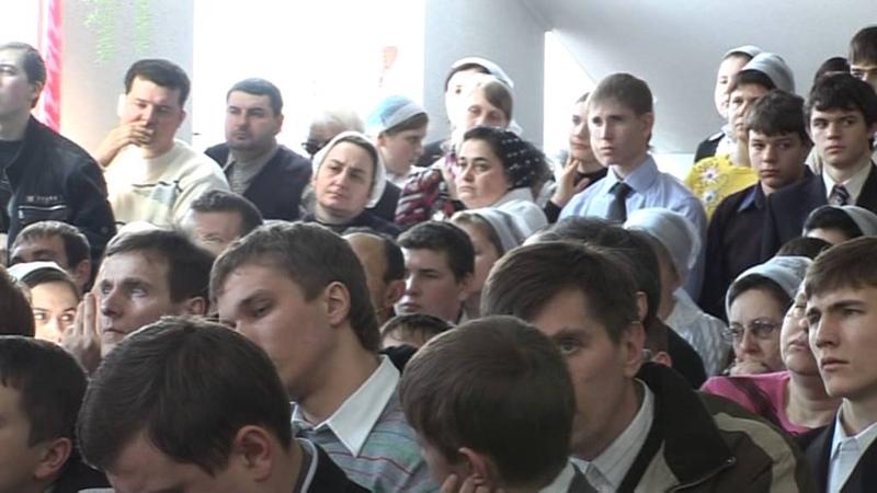Владимир Ноздрин Проповедь-Прославление Бога! ''B