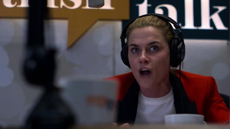 Marvel Jessica Jones - Gluten Scene (Patsy Quits Trish Talk Show!)