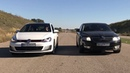 Golf GTI (2016) vs Skoda Octavia 1.8 turbo ( stage2 ) . Битва концерна VAG
