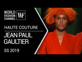Jean paul gaultier -  haute couture - spring-summer 2019