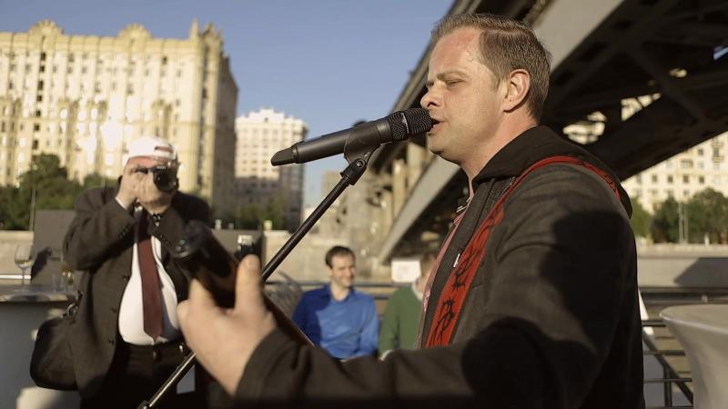 Роман Рябцев - Певец, композитор (ex. «Технология») на Первом Чемпионате мира по Граффити 3D на Москве-реке