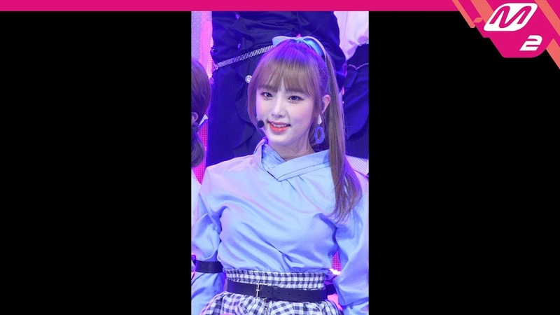 ‹ Fancam: 181115 IZ٭ONE (Yena focus) - La Vie en Rose @ M COUNTDOWN EP.596