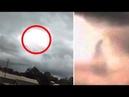 'God' Appears To Walk Across Sky Between Clouds In Alabama
