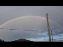 Полная двойная радуга! Смыловка 14 августа!
