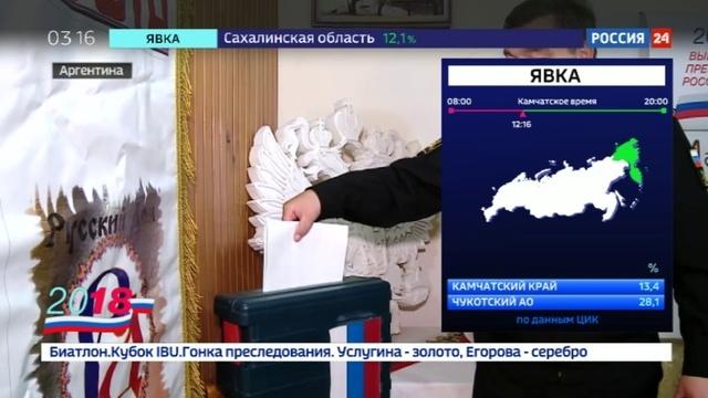 Новости на Россия 24 • В Аргентине проголосовали россияне, участвующие в поиске подлодки San Juan