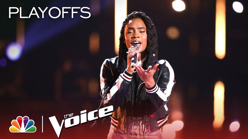 Kennedy Holmes Showcases Her Powerful Vocals with Halo - The Voice 2018 Live Playoffs Top 24