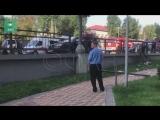 ФАН публикует видео ДТП с BMW в Новой Москве