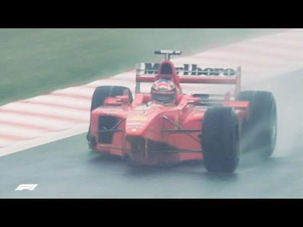 Schumacher and Coulthard's Belgian Bust-up   1998 Belgian Grand Prix
