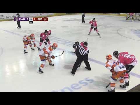 Manchester Storm vs. Sheffield Steeler | Game Highlights | 24.02.19