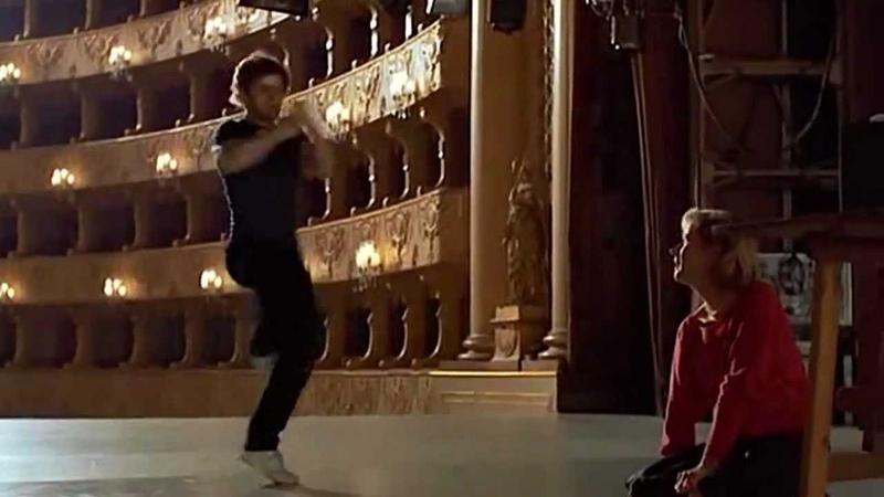 Барышников танцует под Высоцкого кф Белые ночи
