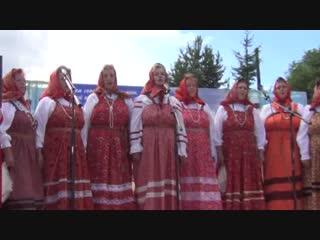 13 июля 2013 год. Большая Нисегора. Праздник церкви Святой Троицы. И.Стесев.
