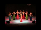 Tabla solo belly dance by Amira Abdi and her students 2013 23460