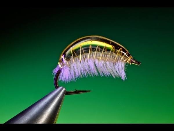 Tying a Jelly bean scud with Barry Ord Clarke