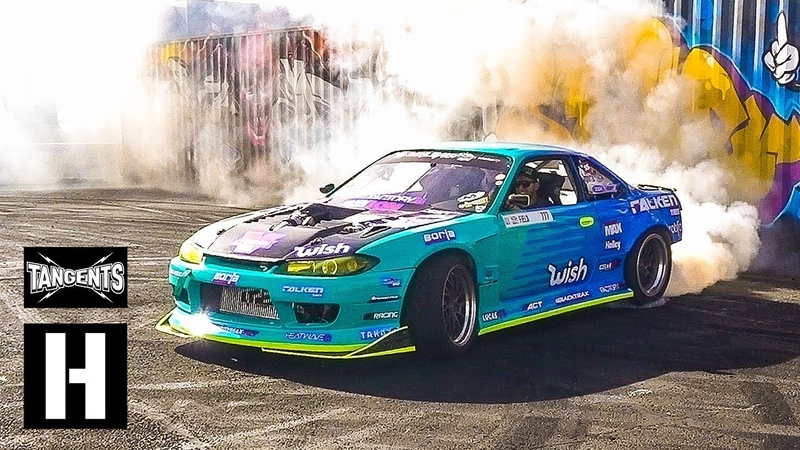 1000hp Supercharged s14 Ken Block LS Fest West Huck Session