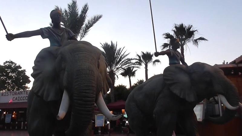 Парк развлечений Картеж Лэнд Хаммамет Тунис Amusement Park Carthage Land Hammamet Tunisia