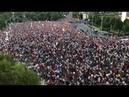 Zeci de mii de protestatari in Piata Victoriei 10 august 2018