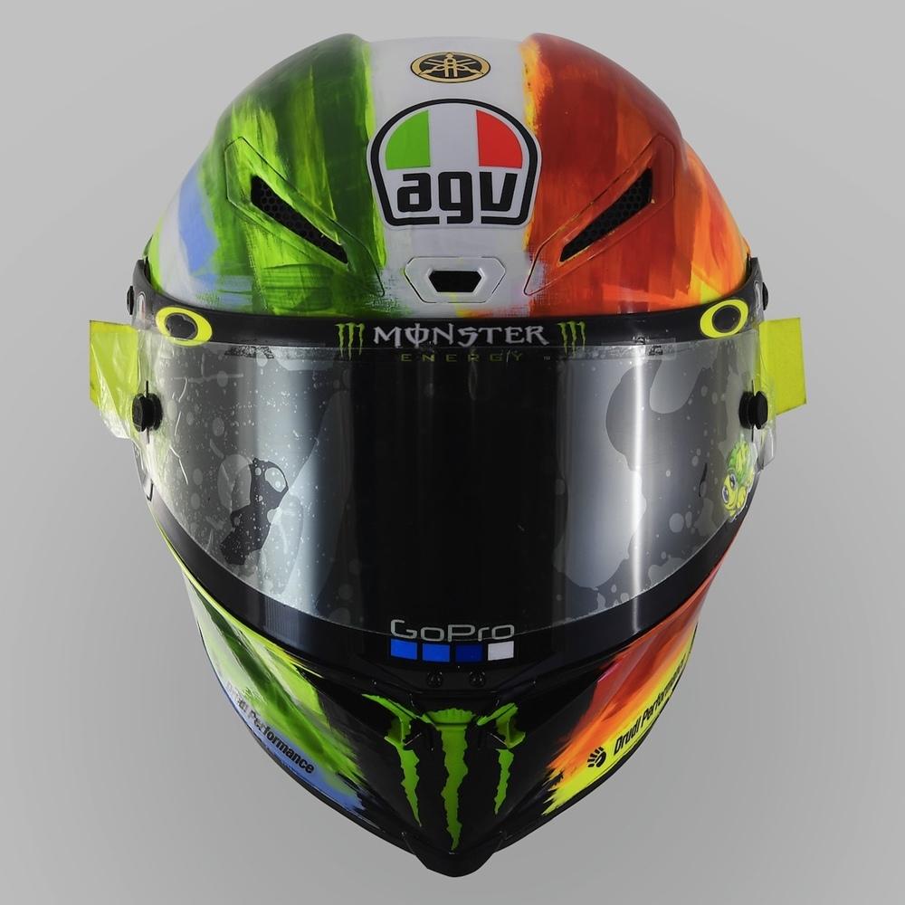 Шлем Валентино Росси -  AGV Mugello Pista GP R 2019