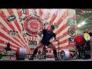 Юрий Белкин тяга 450 кг (Yury Belkin deadlift 450 kg)