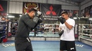 Robert Garcia Very Impressed With Mikey Garcia Power After 5 Weeks At SNAC EsNews Boxing