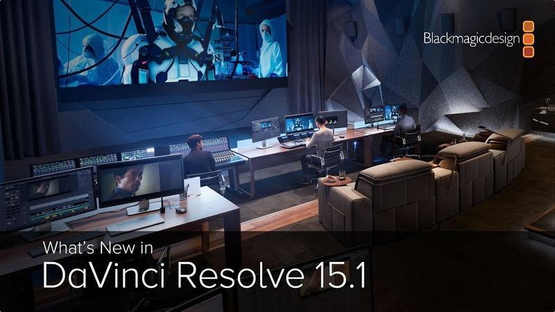 What's New in DaVinci Resolve 15.1