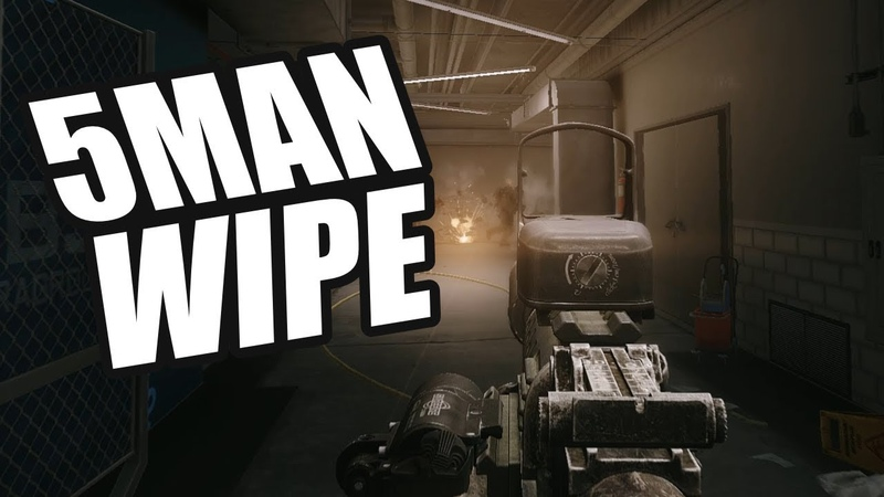 Escape From Tarkov - 5 Man Squad Wipe On Labs