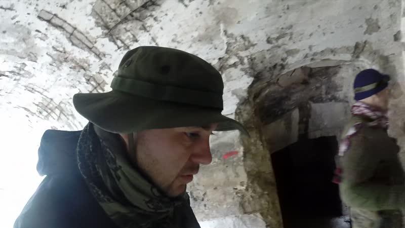 Исследуем Южный форт на Аскети (Спилии). Нахожу немецкую винтовочную гильзу и пулю на тропе. (ВИДЕО Шахов А. В.) 16.11.2018г.