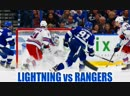 Dave Mishkin calls Lightning highlights from win over Rangers (Stamkos hat trick!)