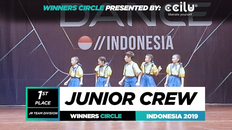 Junior Crew 1st Place Jr Winners Circle World of Dance Indonesia Qualifier 2019 WODIDN19