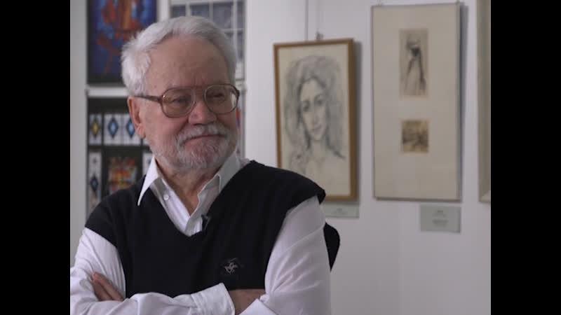 Александр Новосёлов отметил 80-летие на творческой встрече в художественной галерее
