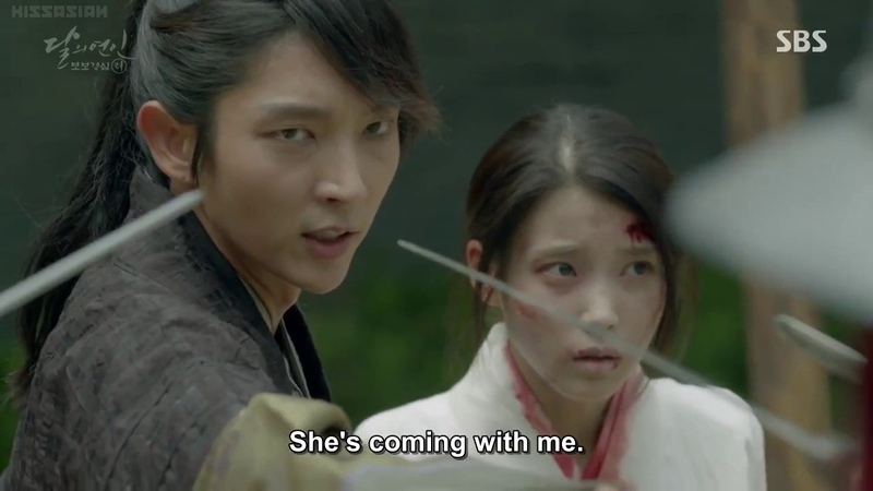 Moon Lovers EP 11 SO SOO MOMENTS PART 6