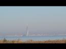 Горизонт с пляжа парка Александрия