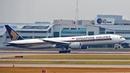 4K Landing Boeing 777 Singapore Airlines at Incheon International Airport/Посадка Boeing 777 Сеул