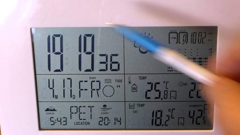 Микро-обзор китайской метеостанции RS8725PC5