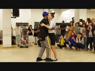 Gwany & Liliana @ Seoul Kizomba Competition 2018