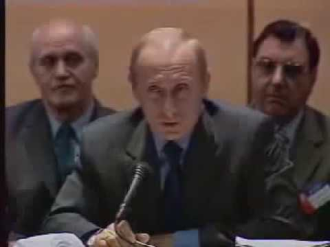 Владимир Путин: Замучаетесь пыль глотать! 19 июня 2002 года