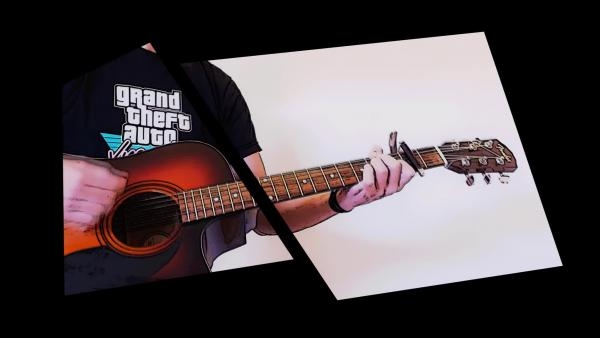 GTA 5 - No Happy Endings (Гитарный кавер)