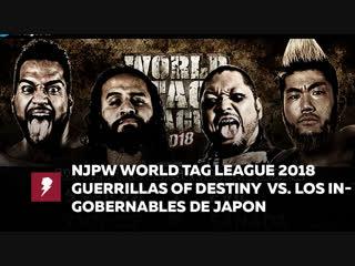 #My1 NJPW World Tag League 2018 Final