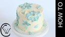 Simple Buttercream Flower Cake COLLABORATION with Rosie's Dessert Spot